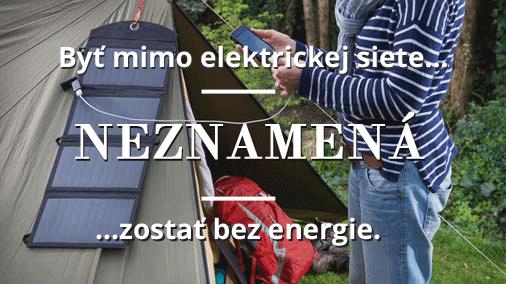 Nezostan bez energie aj na turistike s prenosnymi solarnymi panelmi